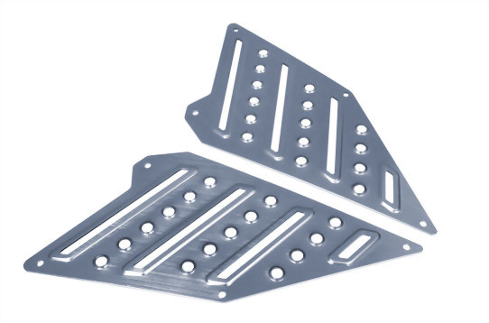 ALUMINUM FOOT BOARD FOR RACING S