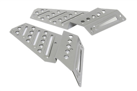 ALUMINUM FOOT BOARD FOR BW'S 125