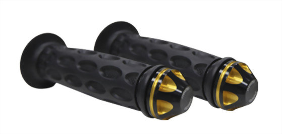 SG05 GRIPS WITH DUAL COLOR END BAR