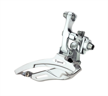 Bicycle front derailleur