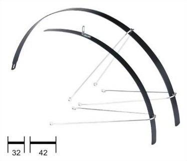 Trekking Bicycle Mudguards