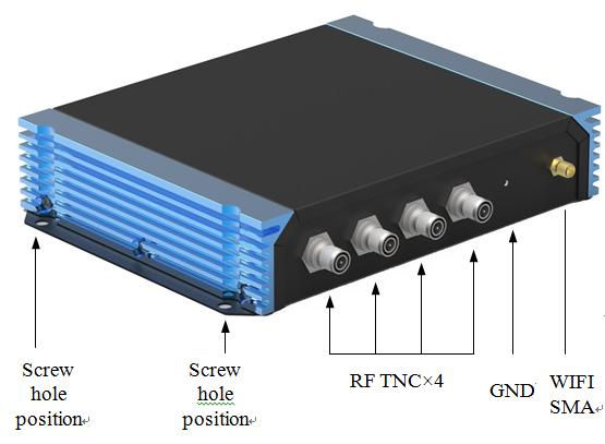 RFID 超高頻 讀取器 4Port