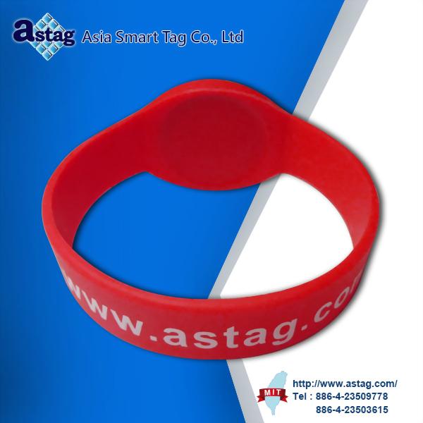 低頻矽膠腕帶型TAG