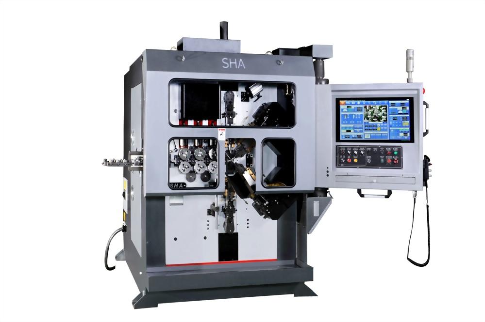 Taiwan Precision Compression Coiling Machine - SHU HONG