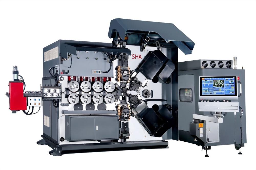 彈簧機廠商推薦、高速精密壓縮彈簧機 - 旭紘自動化(SHA)