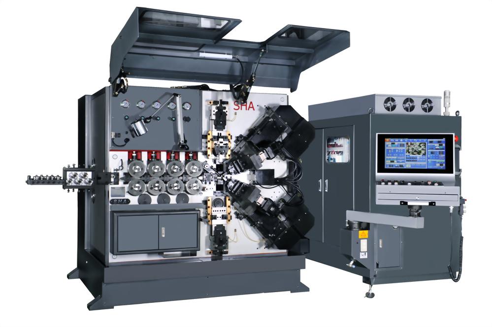 SHA-W980 High Speed & Precision Compression Coiling Machine
