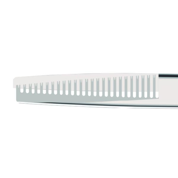 """5"""" Thinner Shear-WTS0500-23 teeth, Silver"""