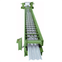 FLOOR DECKING-ROLL FORMING MACHINE