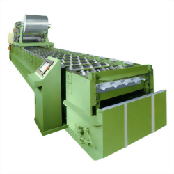 ROOFING AND WALL CLADDING FORMING MACHINE