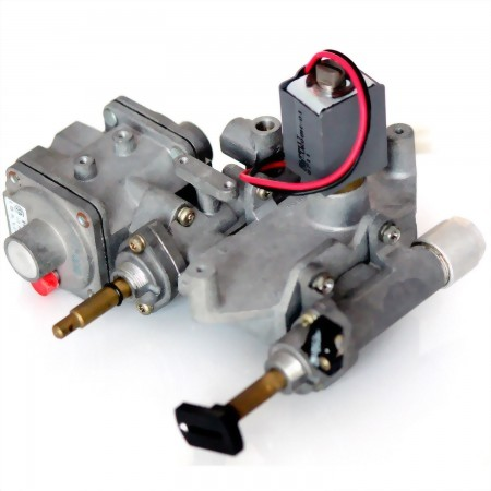 Gas Flow Channel Switching Valve for fireplace