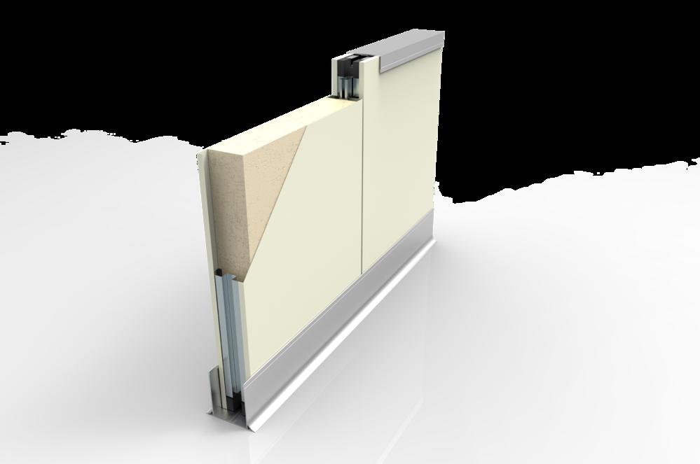 PU發泡金屬隔間板(耐燃一級.耐燃二級)