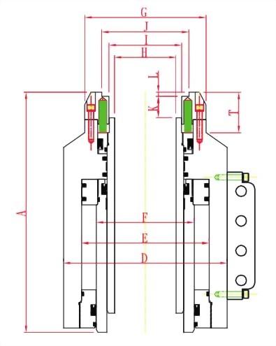 PSD系列--预力绞线双动千斤顶