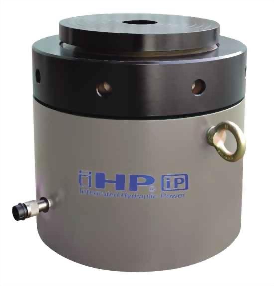 High tonnage safety lock nut cylinders