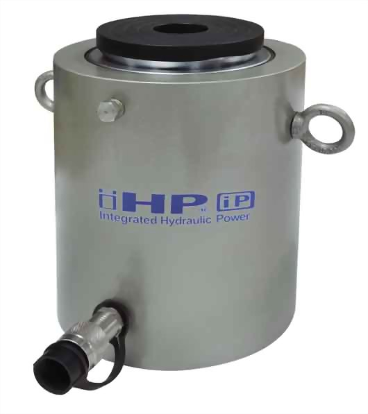 High tonnage single acting hydraulic cylinders