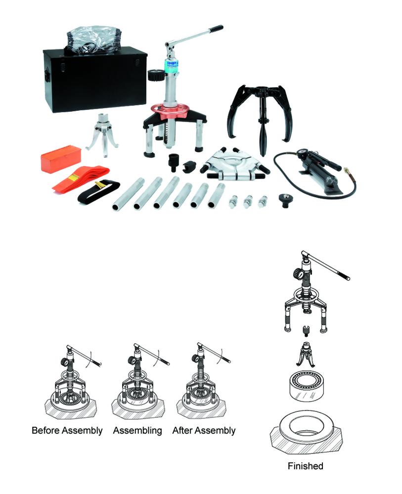 油压拔轮/推进器套装组