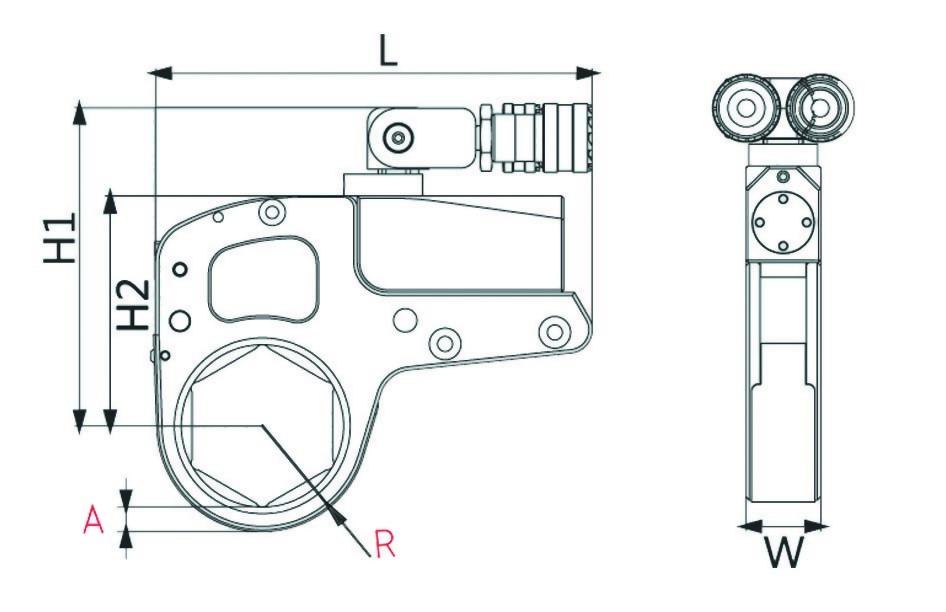 XLN Series Pneumatic Torque Wrench
