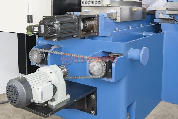 雙向四軸自動銑削機