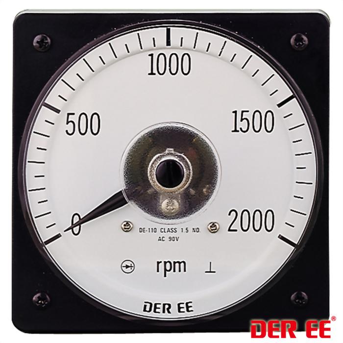 DE-110 Medidor de panel analógico