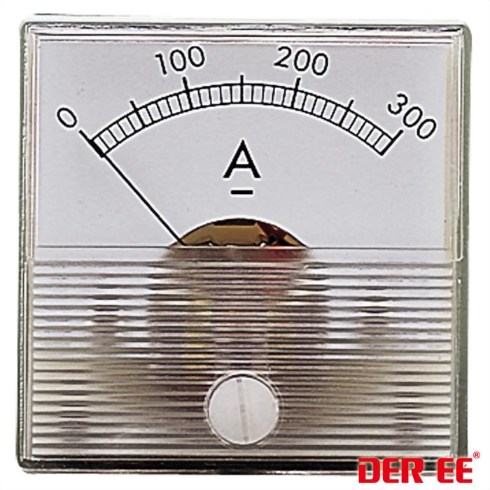 DE-430 Medidor de panel analógico
