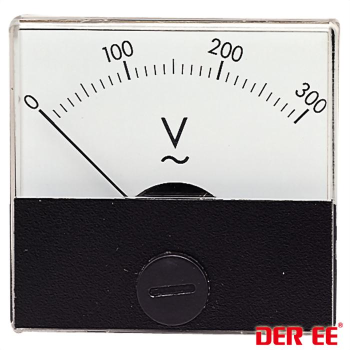 DE-500 Измерители панельные аналоговые