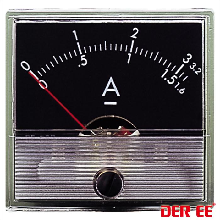 DE-550 Medidor de panel analógico