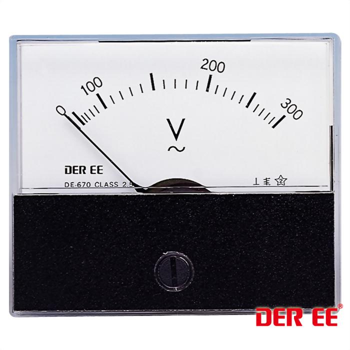 DE-670(AC)Analog panel meter