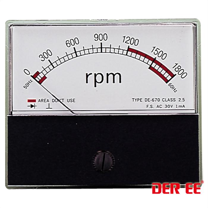 DE-670(DC)Analog panel meter