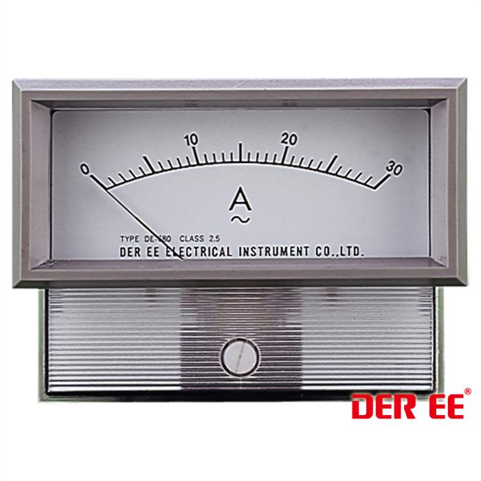 DE-680F Analog panel meter