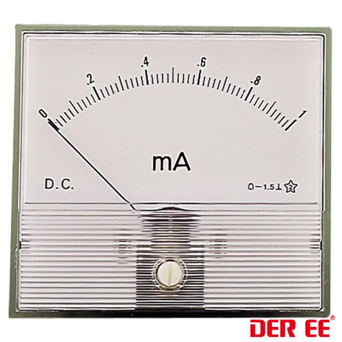 DE-786 Analoge Einbauinstrument
