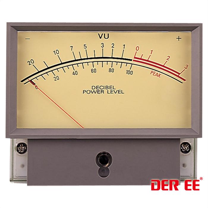DE-1201F VU panel meter