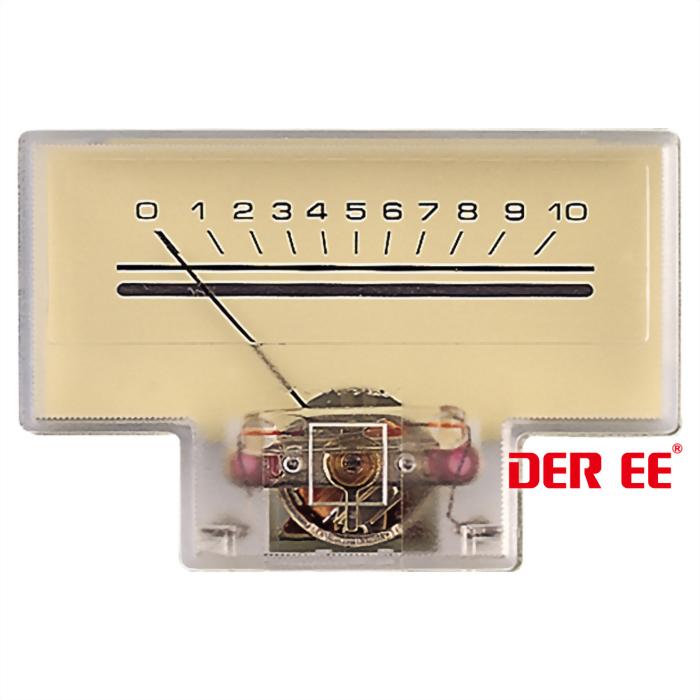 DE-1652 VU panel meter