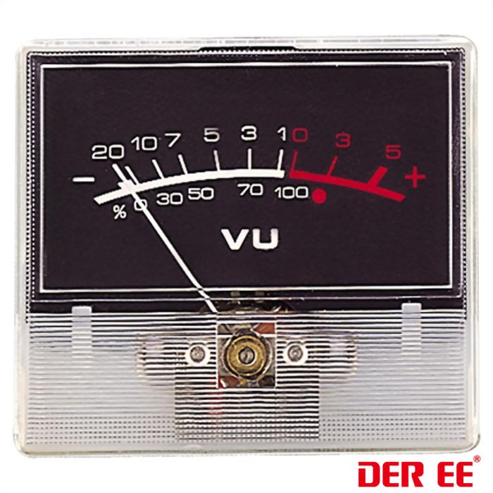 DE-2544-5 VU panel meter