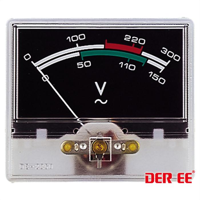 DE-2850 VU panel meter