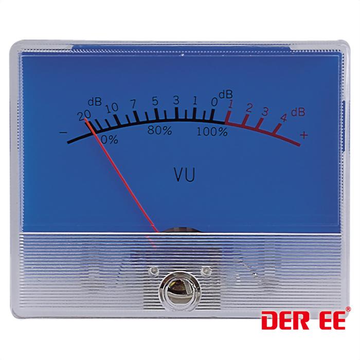DE-3260 VU panel meter