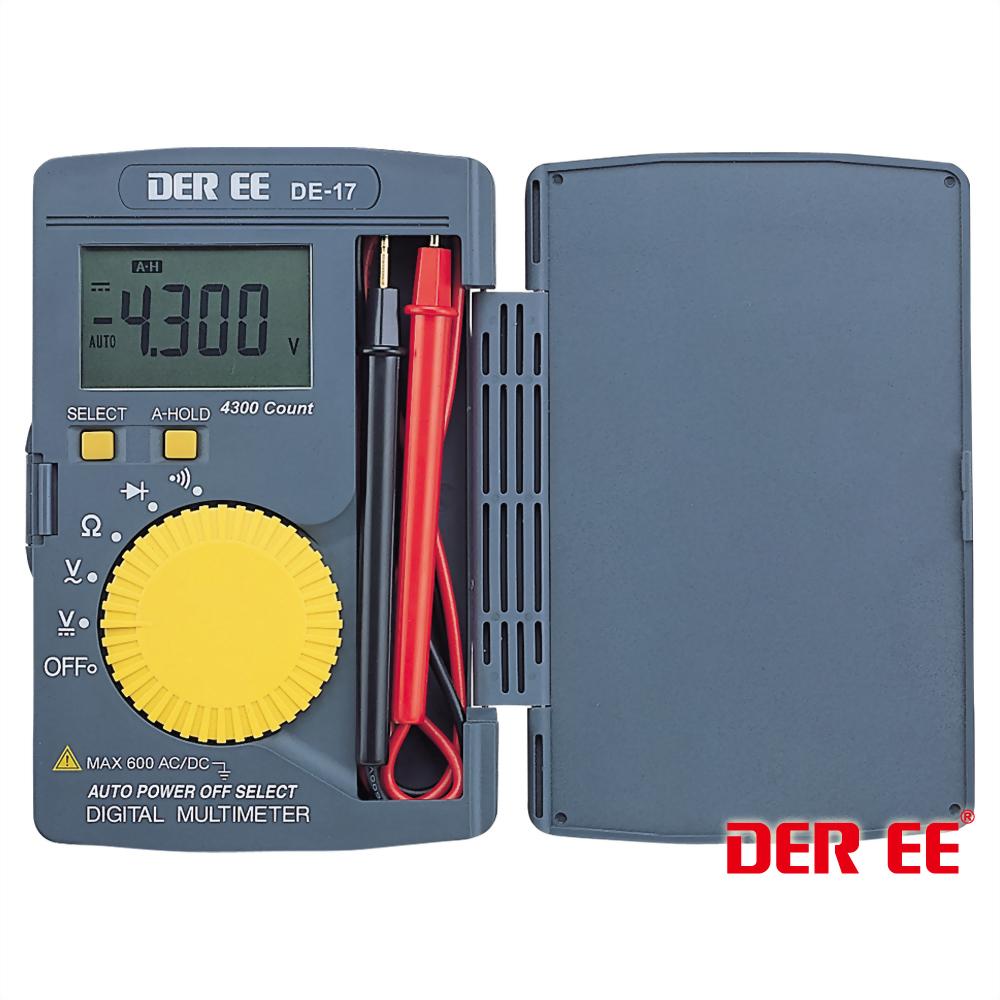 DE-17 カードタイプデジタルマルチメータ