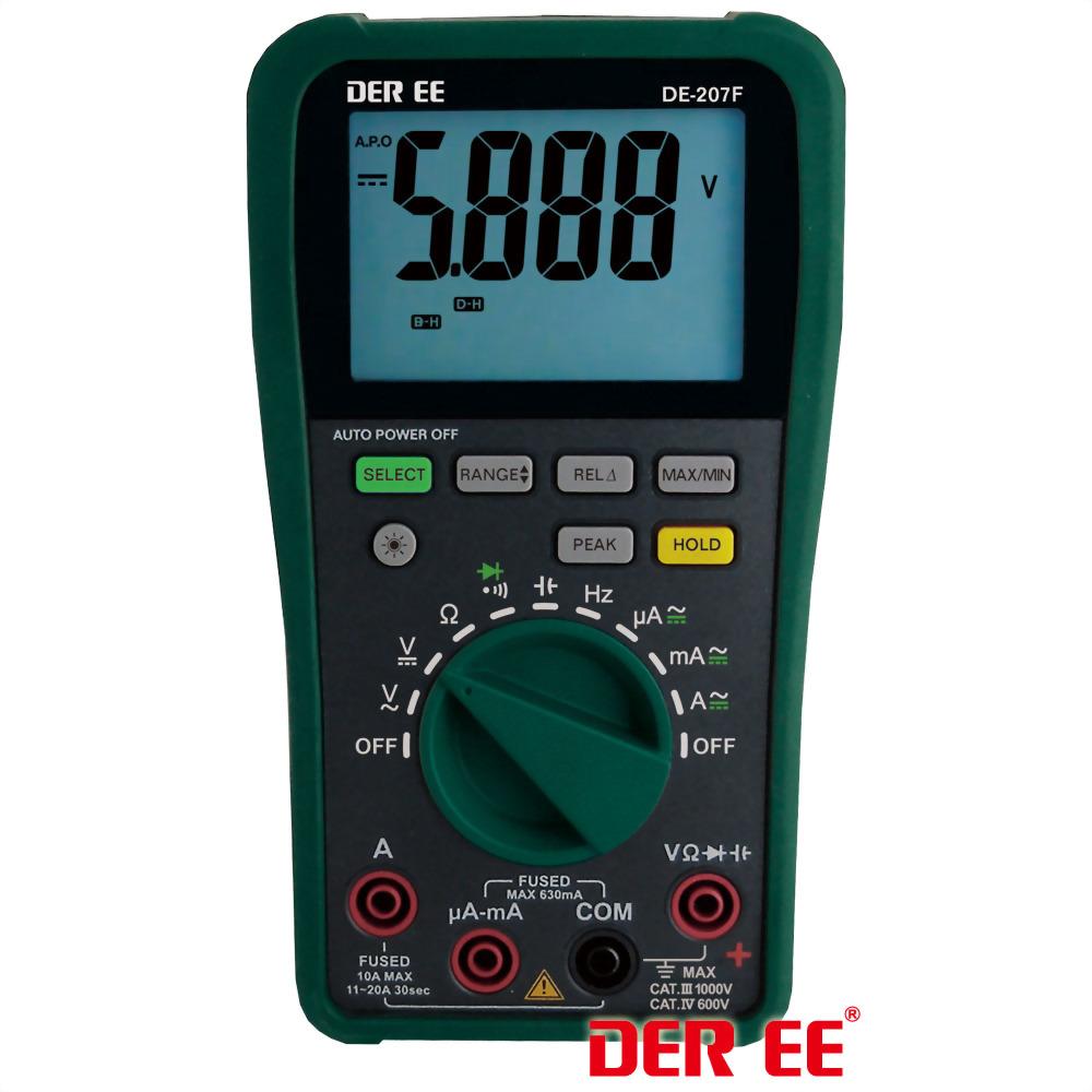 DE-207F Multimètre numérique