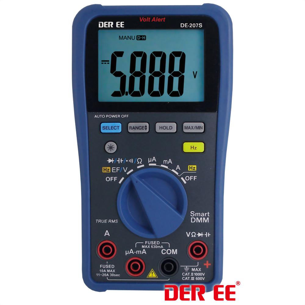 DE-207S Digital Multimeter (D.M.M)
