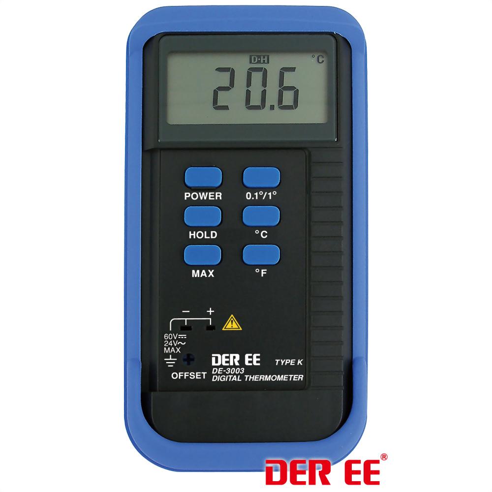 DE-3003 Thermomètre numérique de type K