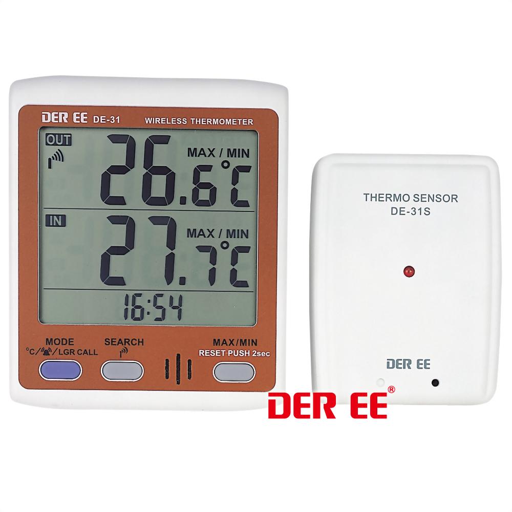 DE-31 Drahtloses Thermometer
