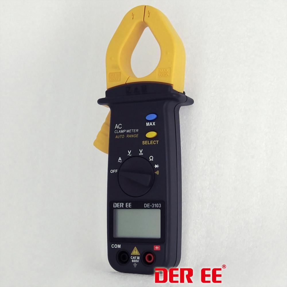 DE-3103 ポケット形クランプメータ