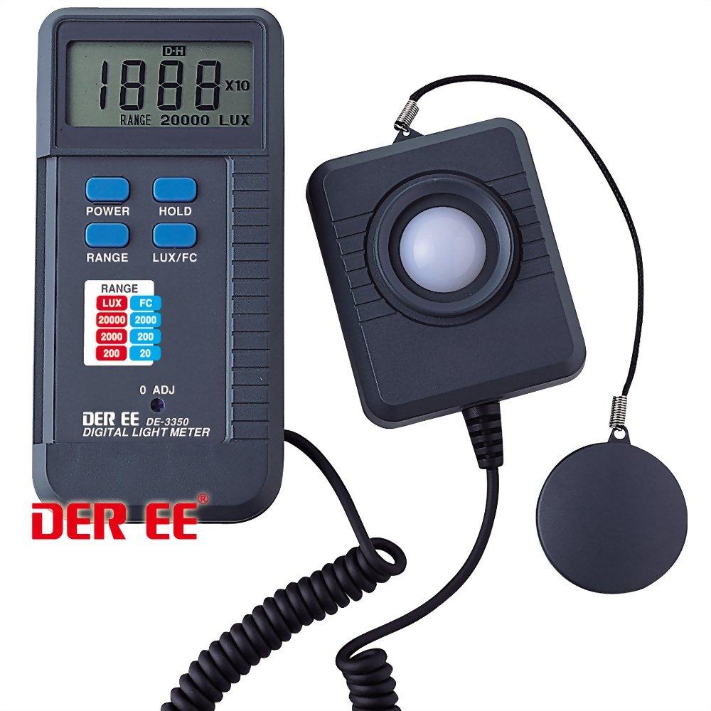 DE-3350 Máy đo cường độ ánh sáng