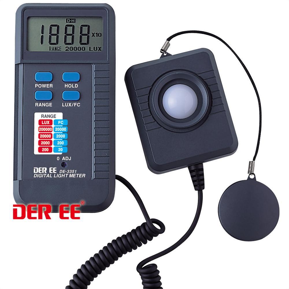 DE-3351 Digital Light Meter