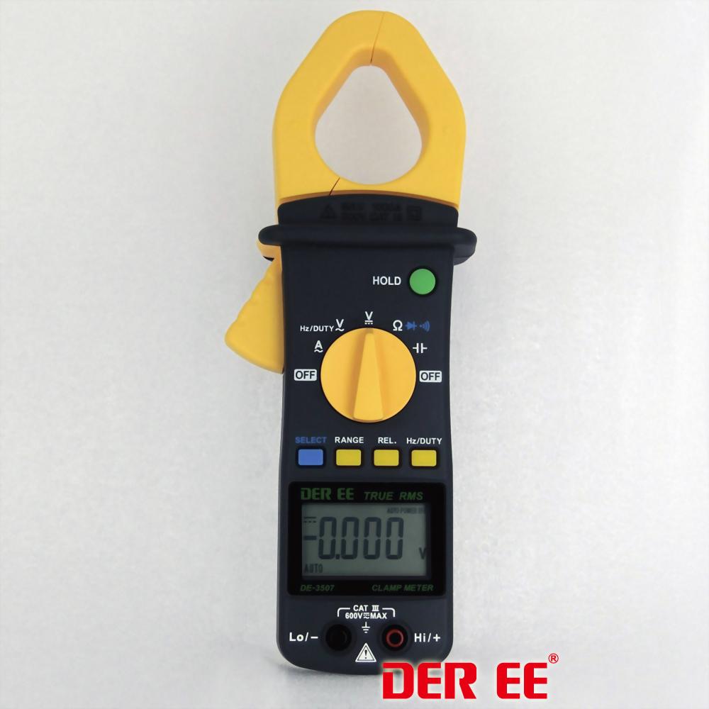 DE-3507 AC Clamp Meter (RMS)