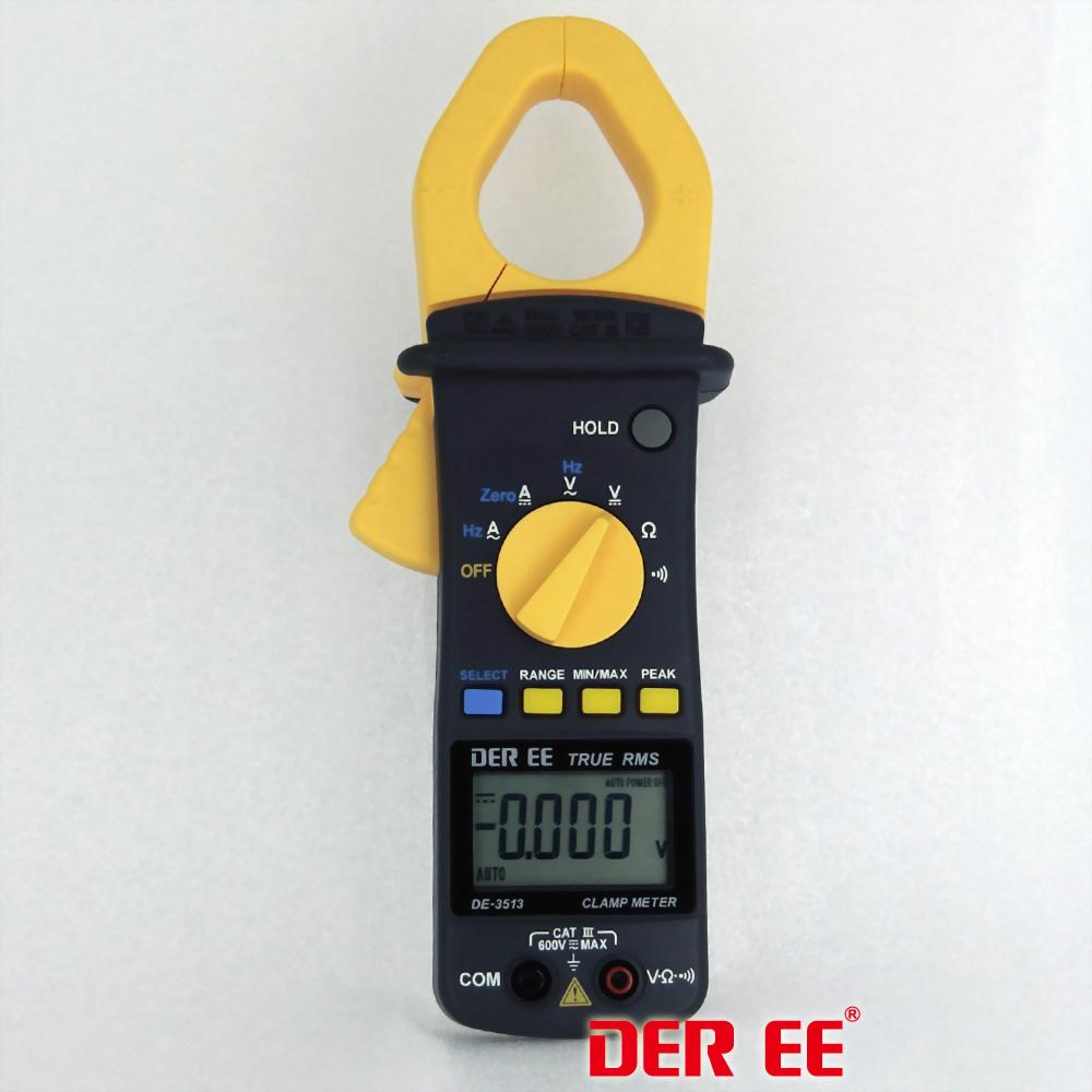 DE-3513 AC/DC Clamp meter(RMS)