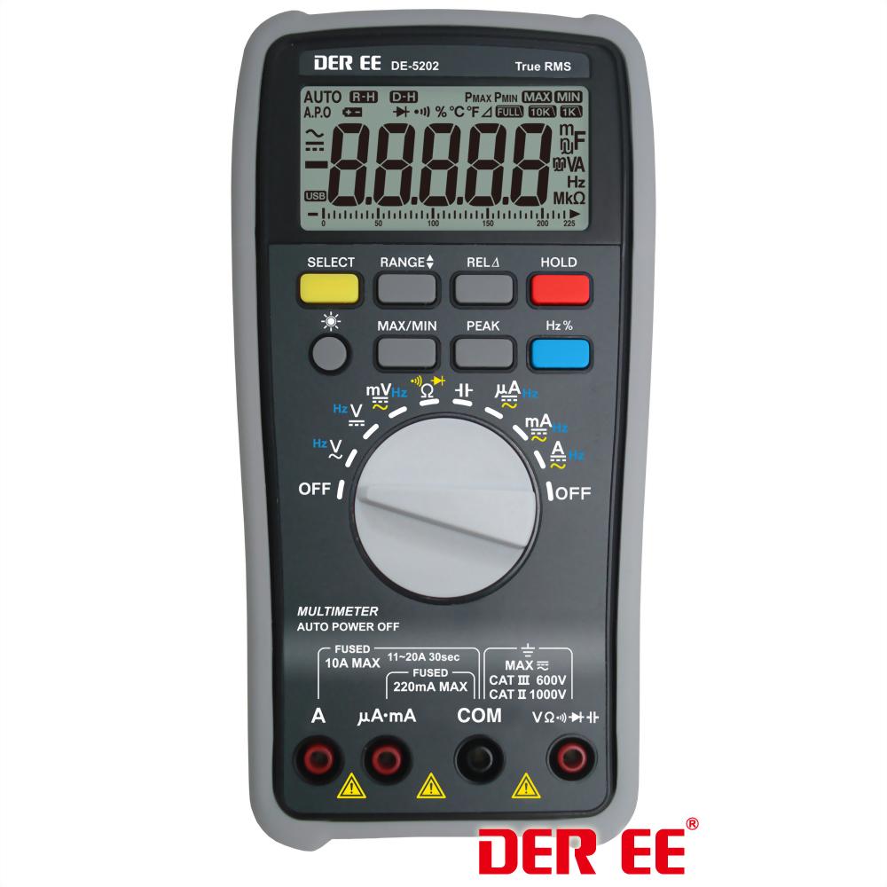 DE-5202 Multimètre numérique