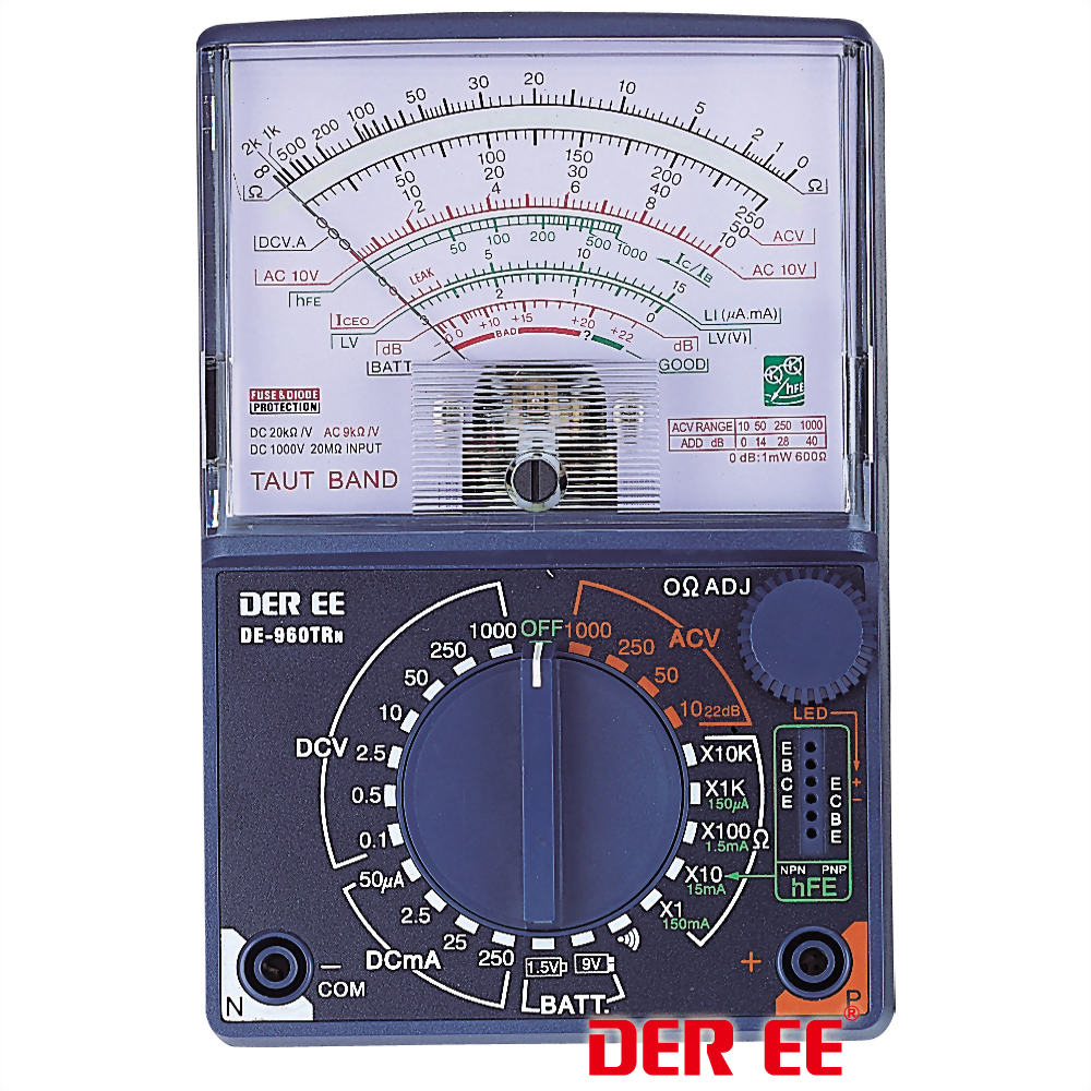 DE-960 TRn Analog Multimeter