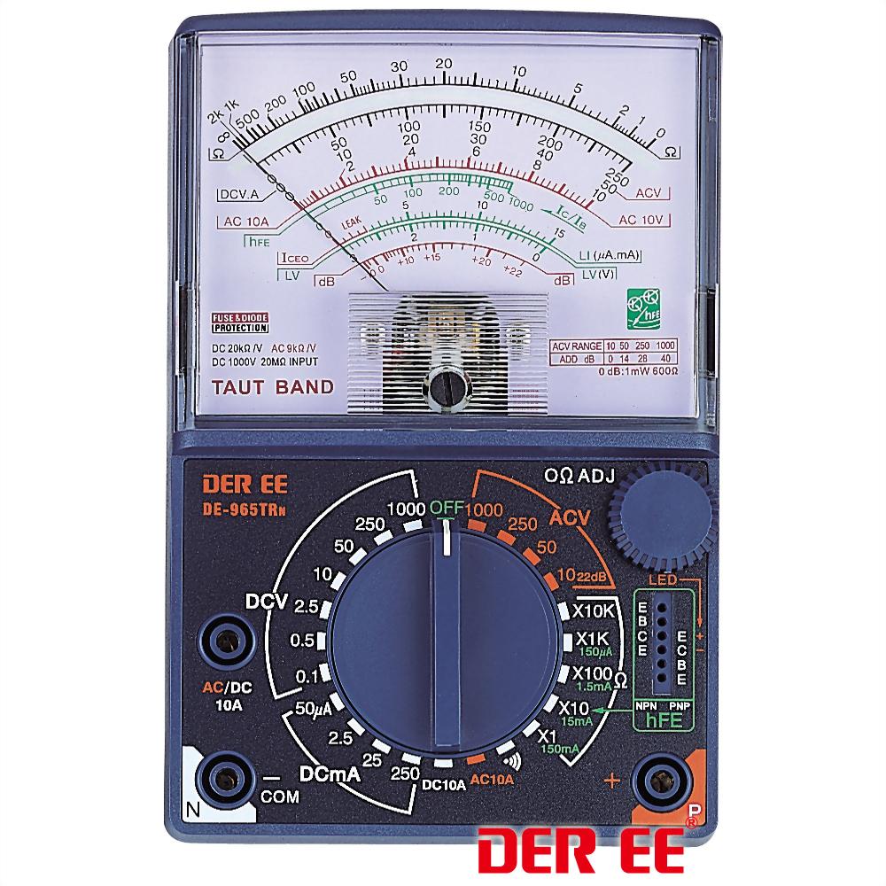 DE-965TRn Multímetro Analógico