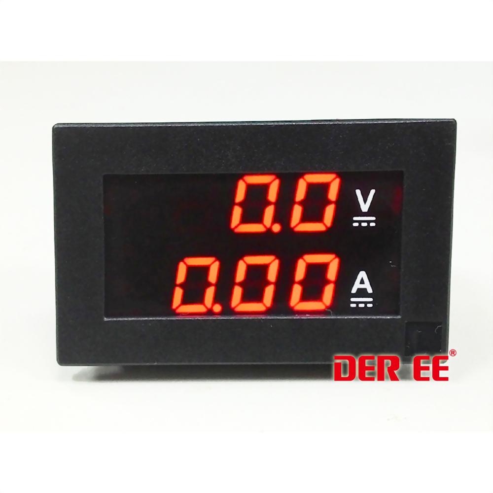 DE-3150-02  直流電圧電流計