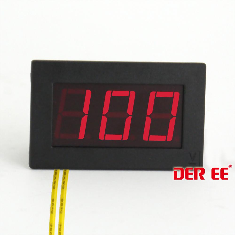 DE-3150 Medidor de panel digital LED
