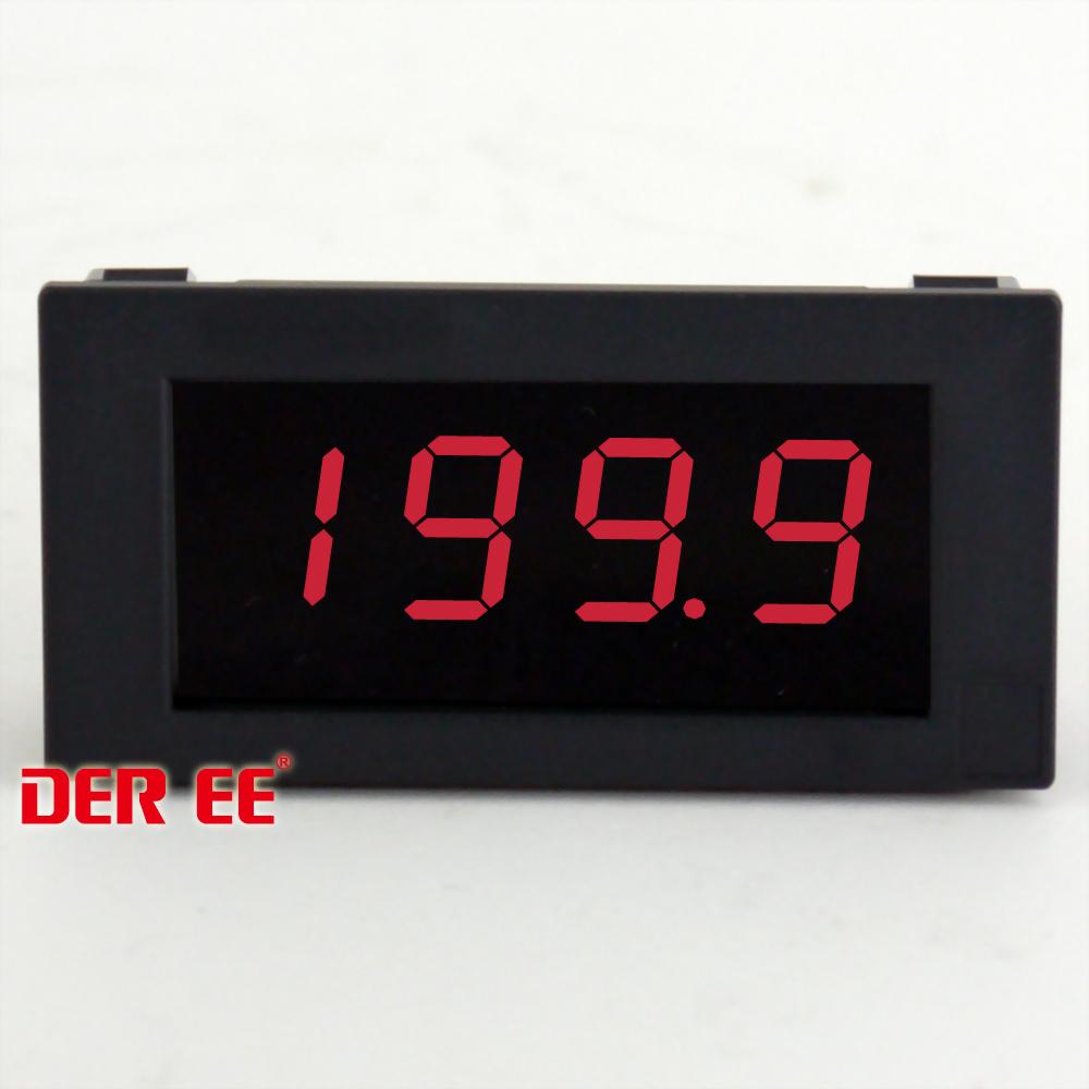 DE-367SE デジタルパネルメータ LED